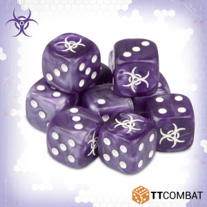 TTCombat Dropzone Commander  The Scourge Fleet Scourge Dice - TTDZR-SCG-001 - 5060570135408