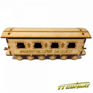 TTCombat   Old Town (28-32mm) Steam Train First Class Carriage - OTS031 -
