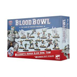 Games Workshop Blood Bowl  Blood Bowl Blood Bowl: The Wolfenburg Crypt-Stealers - Necromantic Horrors Team - 99120907002 - 5011921138838