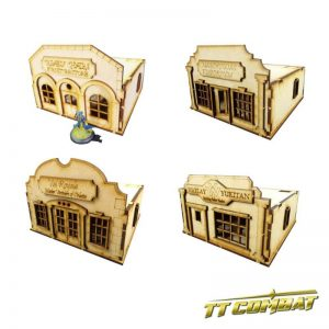 TTCombat   Old Town (28-32mm) 4 Stores Set - OTS4S - 5060504041164