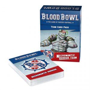 Games Workshop (Direct) Blood Bowl  Blood Bowl Blood Bowl: Necromantic Team Card Pack - 60050907001 - 5011921154661