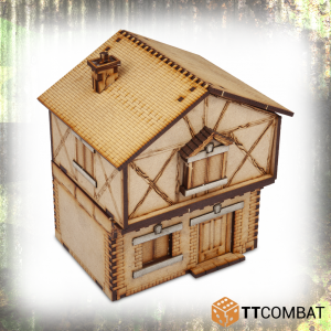 TTCombat   World War Scenics 25mm Village Maison Belle - TTSCW-WAR-036 -