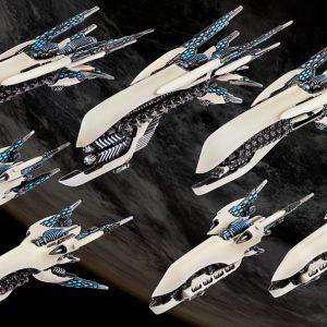 TTCombat Dropfleet Commander  Post-Human Republic Fleet PHR Starter Fleet - HDF-34001 - 740781772306