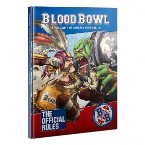 Games Workshop Blood Bowl  Blood Bowl Blood Bowl: The Official Rules - 60040999021 - 9781788269582
