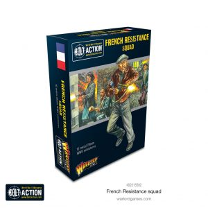 Warlord Games Bolt Action  France (BA) French Resistance Squad - 402215502 - 5060572507227