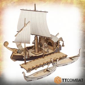 TTCombat   Elven City (28-32mm) Elven Docks - TTSCW-FSC-085 - 5060570137815