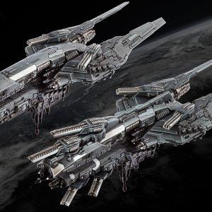 TTCombat Dropfleet Commander  UCM Fleet UCM Cruiser Box - HDF-31002 - 740781772412