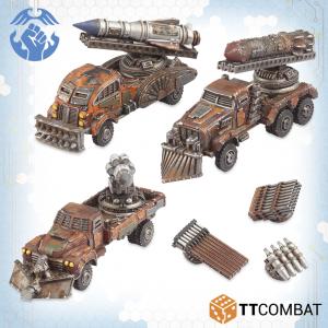 TTCombat Dropzone Commander  Resistance Land Vehicles Resistance Storm / Thunder Wagon - TTDZR-RES-006 - 5060570138201