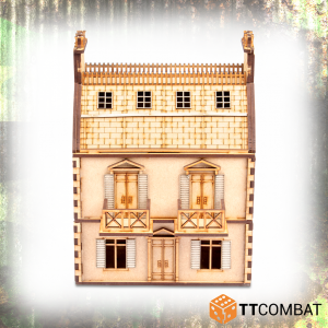 TTCombat   World War Scenics 25mm City 2-Storey Rowhouse - TTSCW-WAR-045 - 5060570134890
