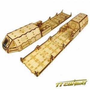 TTCombat   Sci Fi Scenics (28-32mm) Mag-Lift Train - SFU030 - 5060504042208