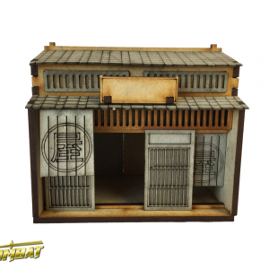 TTCombat   Eastern Empire (28-32mm) Machiya Shop Front - EES016 - 5060504043144