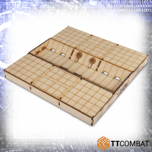 TTCombat   Sci Fi (15mm) Flood Defence Section - TTSCW-SFX-047 -