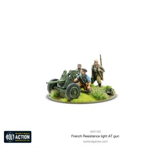 Warlord Games Bolt Action  France (BA) French Resistance Light Anti Tank Gun - 403011302 -