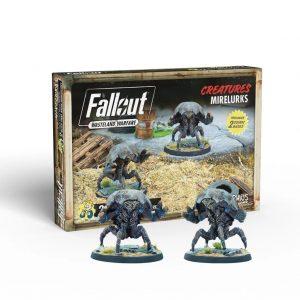 Modiphius Fallout: Wasteland Warfare  Fallout: Wasteland Warfare Fallout: Wasteland Warfare - Creatures: Mirelurks - MUH052010 - 5060523342822