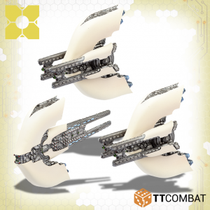TTCombat Dropfleet Commander  Post-Human Republic Fleet PHR Monitors - TTDFR-PHR-005 - 5060570136788