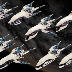 TTCombat Dropfleet Commander  Post-Human Republic Fleet PHR Frigate Box - HDF-34003 - 740781772481