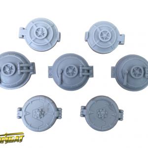 TTCombat   Industrial Hive (28-32mm) Industrial Hive Hatches - INHRA003 - 5060504049085