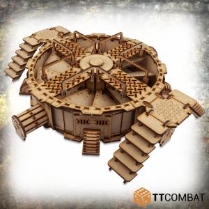 TTCombat   Industrial Hive (28-32mm) Sector 4 - Mega Turbine - TTSCW-INH-038 - 5060570136979