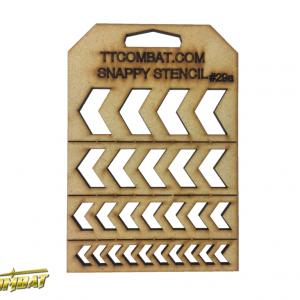 TTCombat   Snappy Stencils Arrow Chevrons - SST29A - SST29A