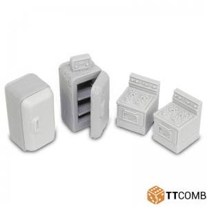 TTCombat   City Scenics (28-30mm) Kitchen Accessories - DCSRA018 - 5060570131899