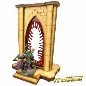 TTCombat   Fantasy Scenics (28-32mm) Minor Riftgate of Blood - FSC008 - 5060504043410
