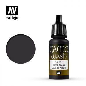 Vallejo   Game Wash Game Wash: Black Wash - VAL73201 - 8429551732017