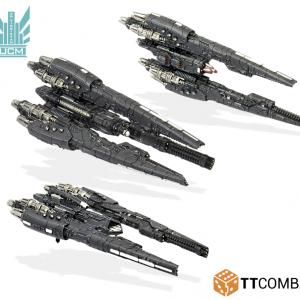 TTCombat Dropfleet Commander  UCM Fleet UCM Destroyers - TTDFR-UCM-007 - 5060570131790