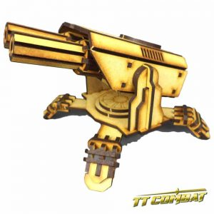 TTCombat   Sci Fi Scenics (28-32mm) Laser Defence Platform - SFU031 - 5060504042215