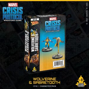 Atomic Mass Marvel Crisis Protocol  Marvel: Crisis Protocol Marvel Crisis Protocol: Wolverine and Sabretooth - CP40 - 841333112899