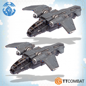 TTCombat   Resistance Air Vehicles Resistance Swifthawk Tilt-Jets - TTDZR-RES-027 - 5060570139789