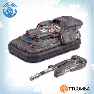TTCombat   Resistance Land Vehicles Resistance Hydra Relay / Circe Attack Hovercraft - TTDZR-RES-008 - 5060570139833