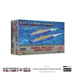 Warlord Games Victory at Sea  Victory at Sea Victory as Sea: Admiral Graf Spee & Admiral Scheer - 742411012 - 5060572506732
