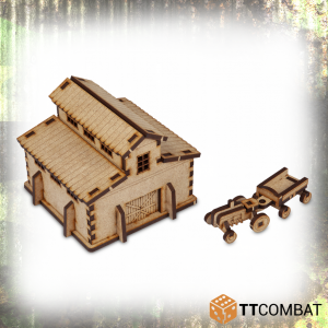 TTCombat   World War Scenics 15mm Barn - TTSCW-WAR-009 -