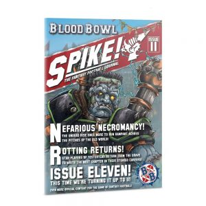 Games Workshop Blood Bowl  Blood Bowl Spike! The Fantasy Football Journal - Issue 11 - 60040999017 - 9781788269629