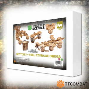 TTCombat   White Box Specials White Box Special: Sector 3 Fuel Storage Omega - TTSCX-EXC-015 - 5060850179764