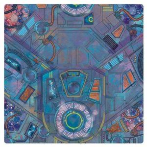 Atomic Mass Marvel Crisis Protocol  Marvel: Crisis Protocol Marvel Crisis Protocol: Spaceport Showdown Game Mat - FFGMSGA03 - 841333110086