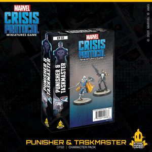 Atomic Mass Marvel Crisis Protocol  Marvel: Crisis Protocol Marvel Crisis Protocol: Punisher and Taskmaster - CP32 - 841333109363