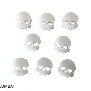 TTCombat   Status & Wound Markers Ivory Skulls - TTCM01 - 5060504044738