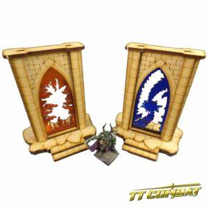 TTCombat   Fantasy Scenics (28-32mm) Minor Riftgate Set 1 - FSC002 - 5060504043366