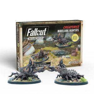 Modiphius Fallout: Wasteland Warfare  Fallout: Wasteland Warfare Fallout: Wasteland Warfare - Creatures: Mirelurk Hunters - MUH052006 - 5060523342785
