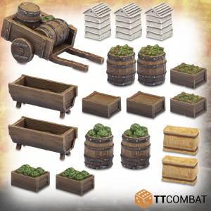 TTCombat   Savage Domain (28-32mm) Savage Domain: Halfling Produce - TTSCR-FSC-007 - 5060570135347