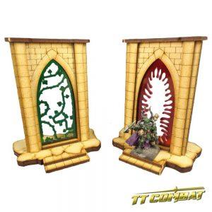 TTCombat   Fantasy Scenics (28-32mm) Minor Riftgate Set 2 - FSC004 - 5060504043373