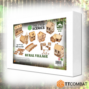 TTCombat   World War Scenics White Box Special: Rural Village - TTSCX-EXC-023 - 5060850179849