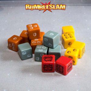 TTCombat Rumbleslam  Rumbleslam Rumbleslam Dice Pack - RSG-DICE-01 -