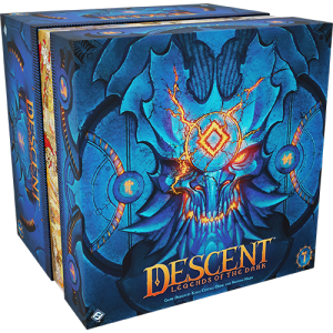 Fantasy Flight Games Descent: Legends of the Dark  Descent: Legends of the Dark Descent: Legends of the Dark - FFGDLE01 -