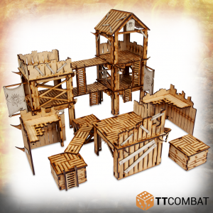 TTCombat   Savage Domain (28-32mm) Savage Domain: Marauder Outpost - TTSCW-FSC-031 - 5060570136153