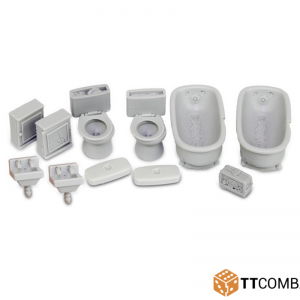 TTCombat   City Scenics (28-30mm) Bathroom Accessories - DCSRA019 - -5060570131905