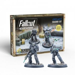 Modiphius Fallout: Wasteland Warfare  Fallout: Wasteland Warfare Fallout: Wasteland Warfare - Enclave: Soldier Set - MUH052036 -