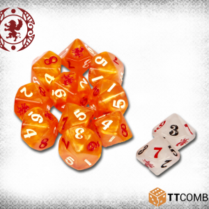TTCombat   Carnevale Carnevale: Gifted Dice - TTCGR-ACC-009 - CARNDGIFT