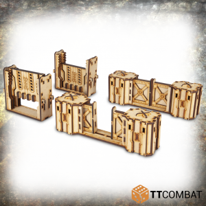 TTCombat   Iron Labrynth (28-32mm) Iron Labyrinth: Doors - TTSCW-INH-051 - 5060570136801